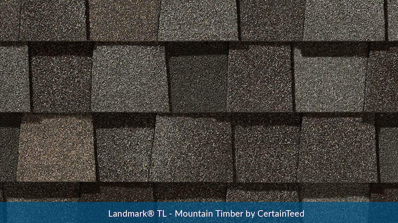Landmark® TL - Mountain Timber by CertainTeed