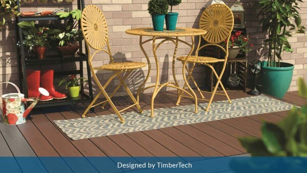 Decking in Chesterfield missouri designed by TimberTech