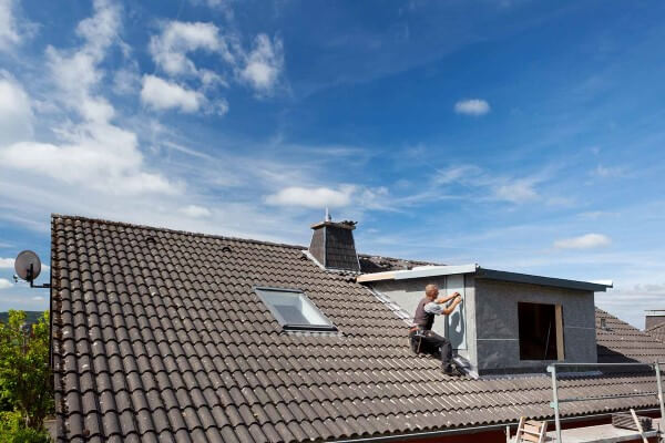get in touch with a roofer in Ballwin